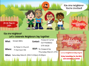 neighbours day 2014 online edition