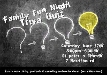 family fun night trivia quiz
