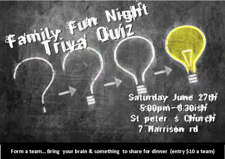 family fun night trivia quiz