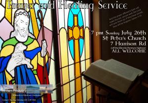 prayer and healing service July 2015
